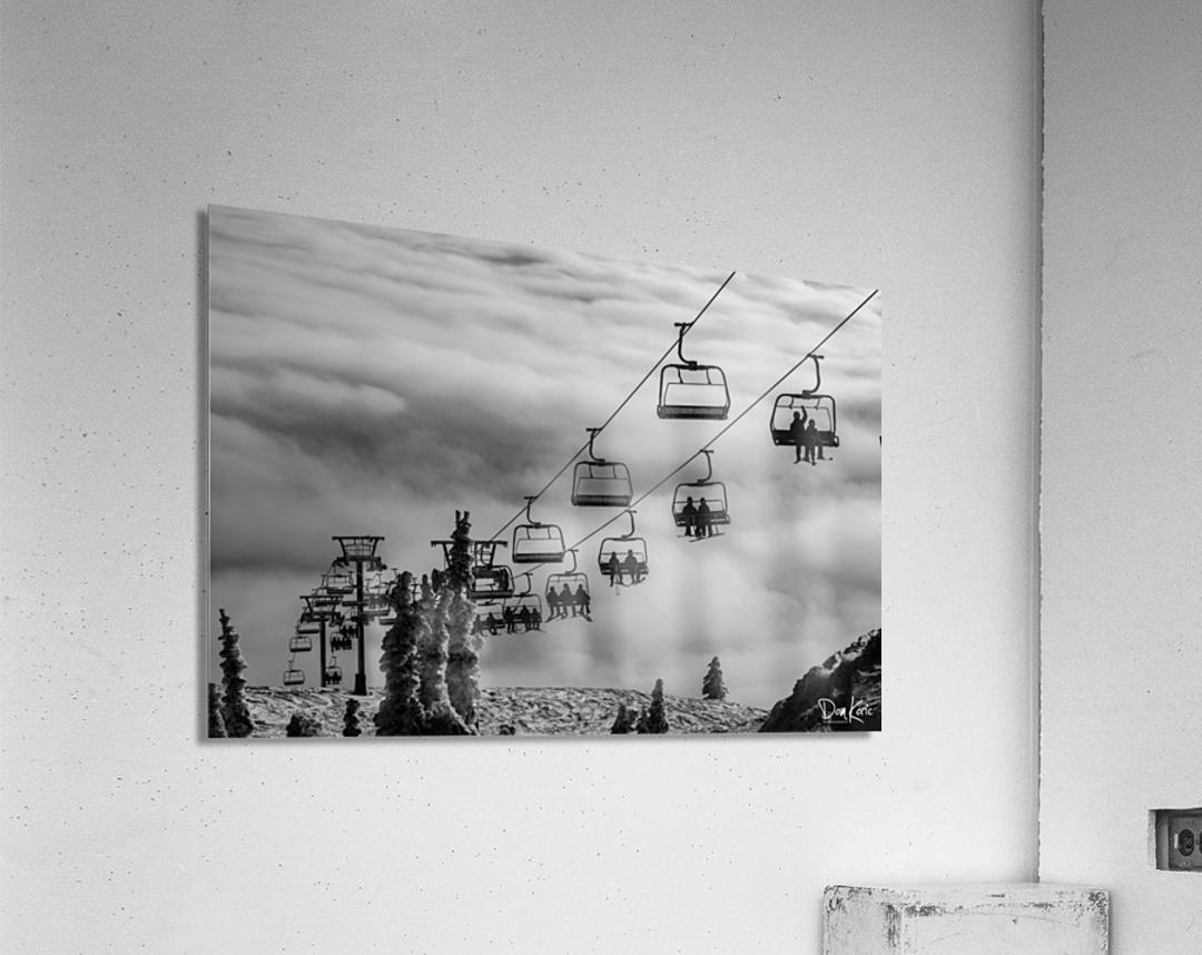 Crystal Clouds  Acrylic Print