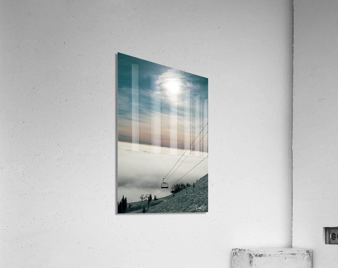 Sun Scape  Acrylic Print