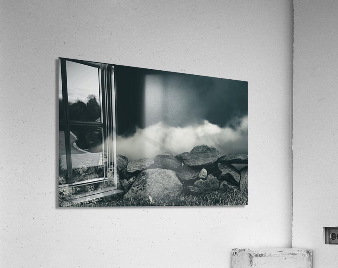 Behind The Wall  Acrylic Print