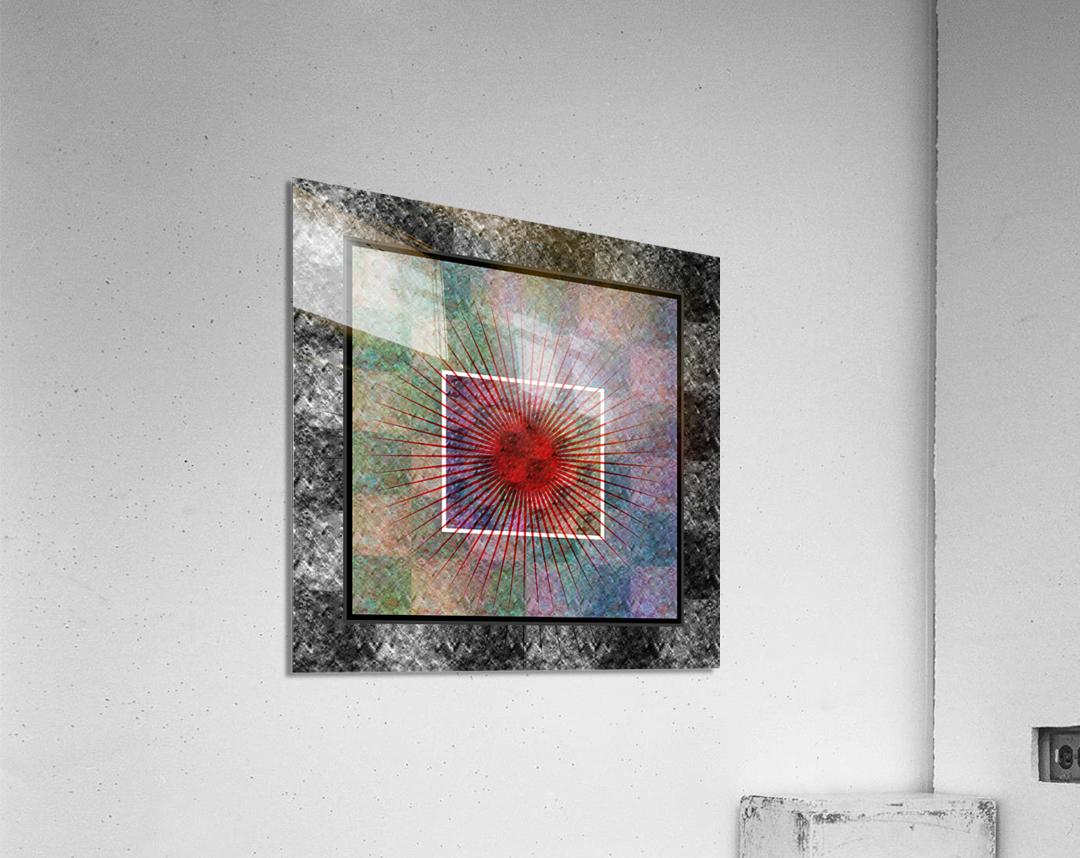 Layers of my Heart  Acrylic Print