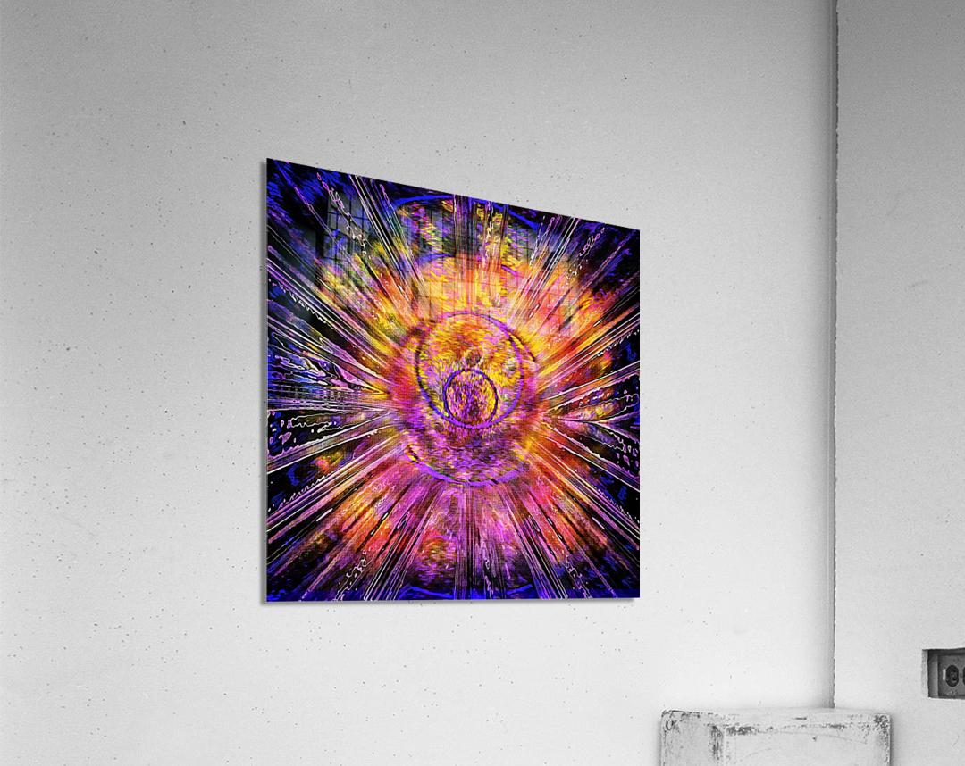 Light Body Activation  Acrylic Print