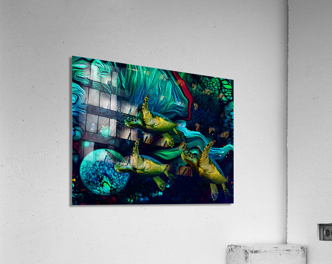 Turtles en Saison 8  Acrylic Print