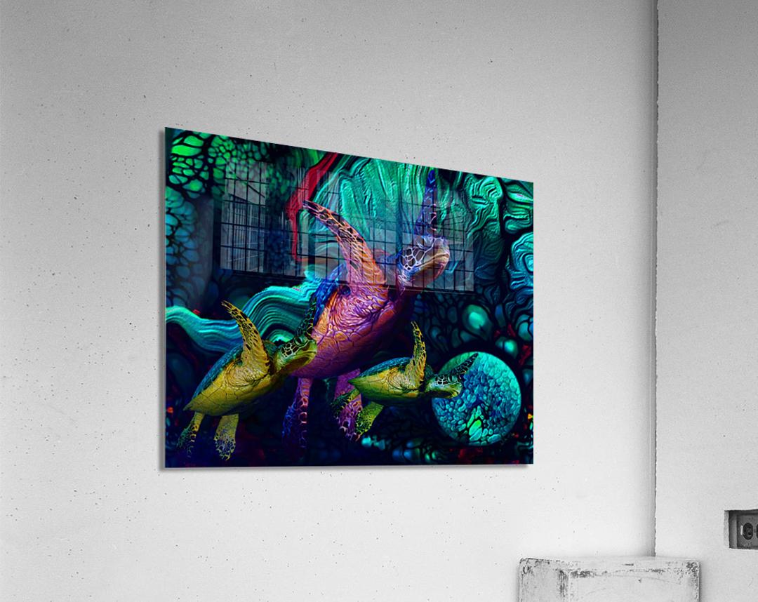 Turtles en Saison 5  Acrylic Print