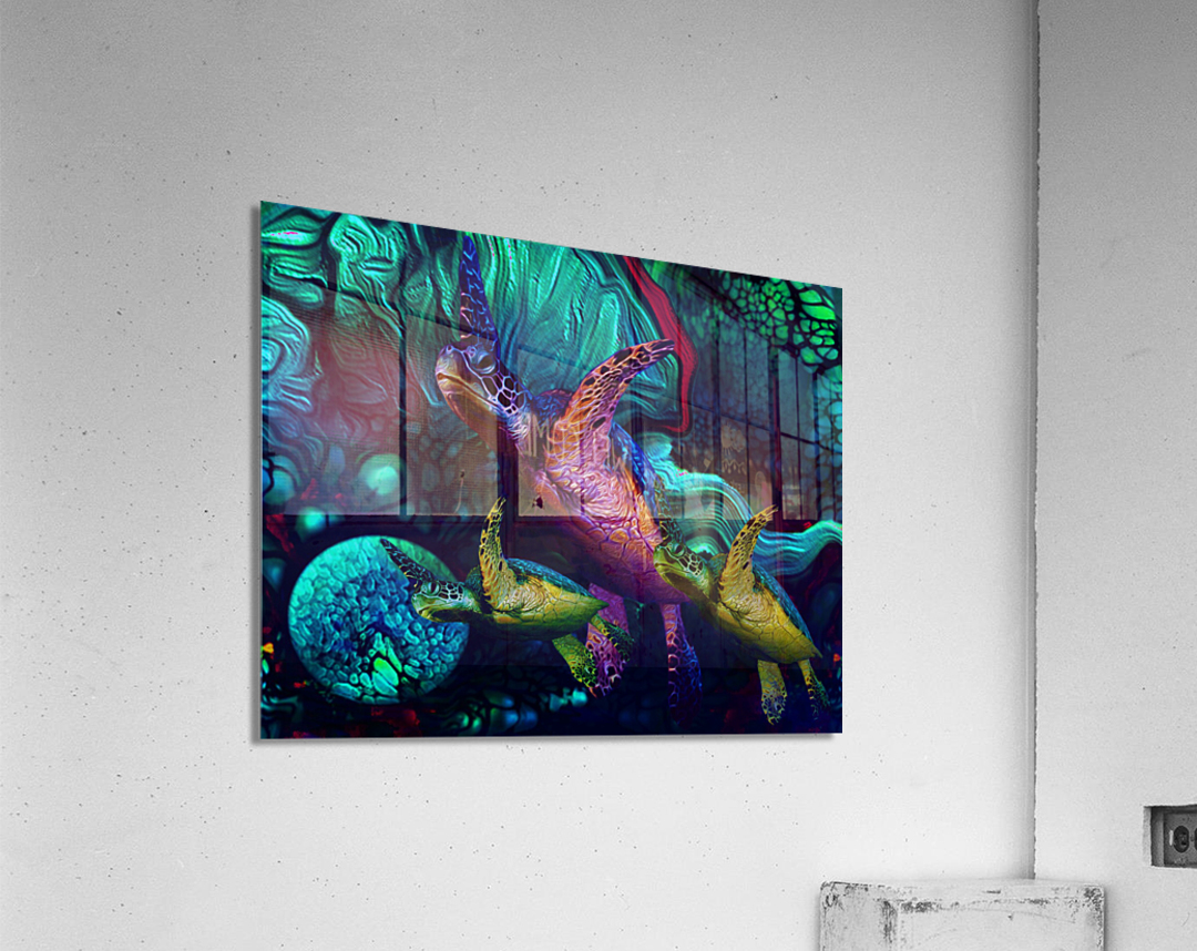Turtles en Saison 6  Acrylic Print