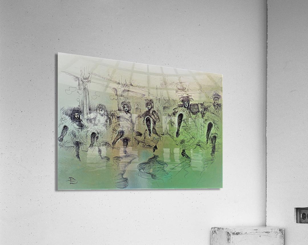 The Bluebell Girls  Acrylic Print