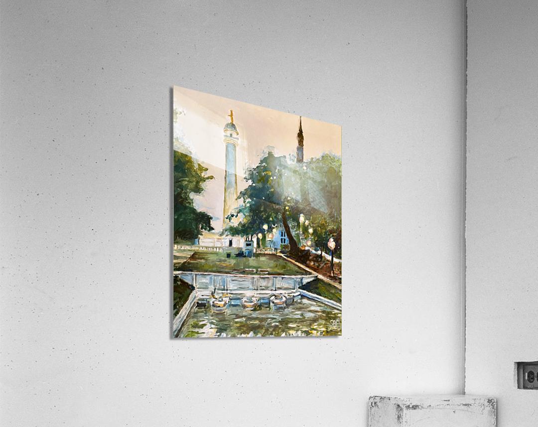 Mt Vernon Baltimore  Acrylic Print