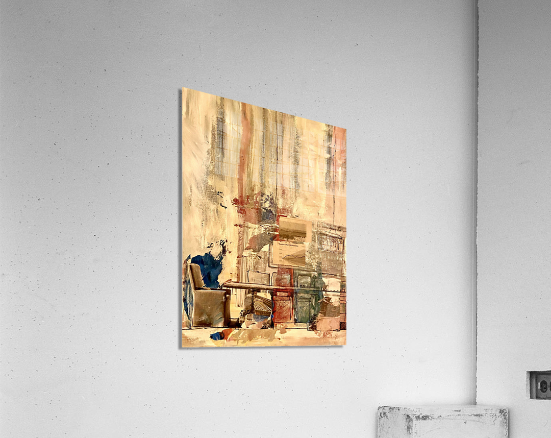 Dining Room Deconstructed   Acrylic Print