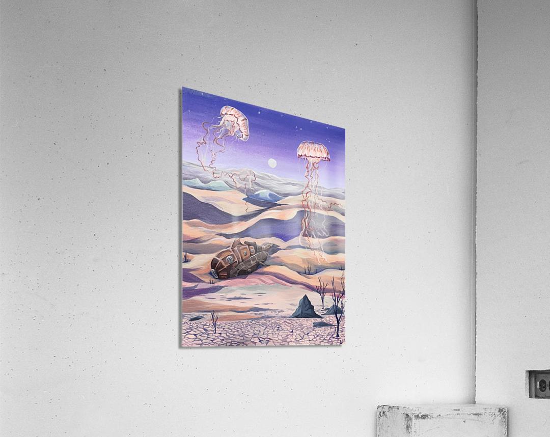 Submarine Shipwreck  Acrylic Print