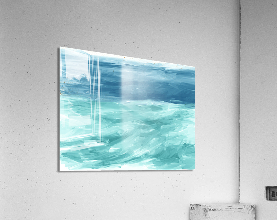 Looking for Swells  Acrylic Print