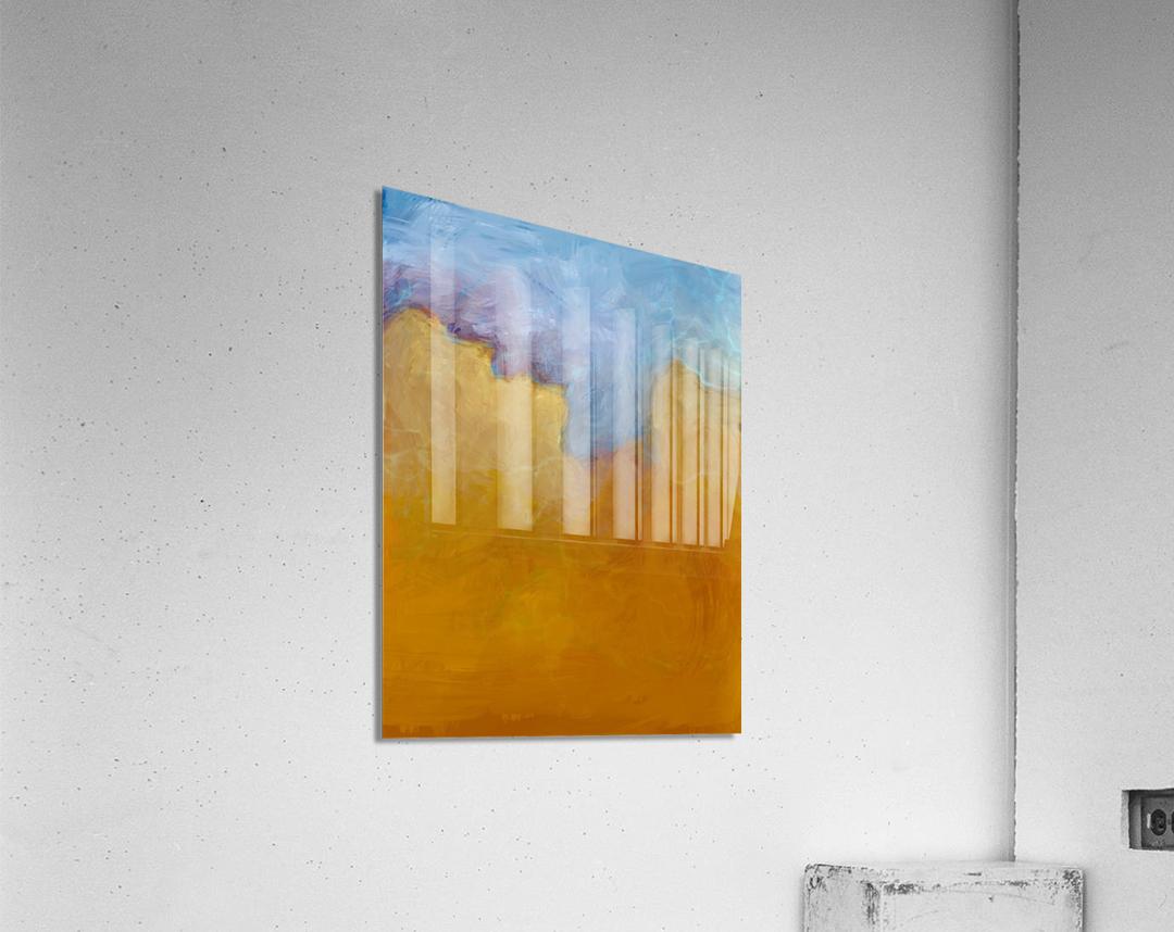 Big Orange Cloud  Acrylic Print