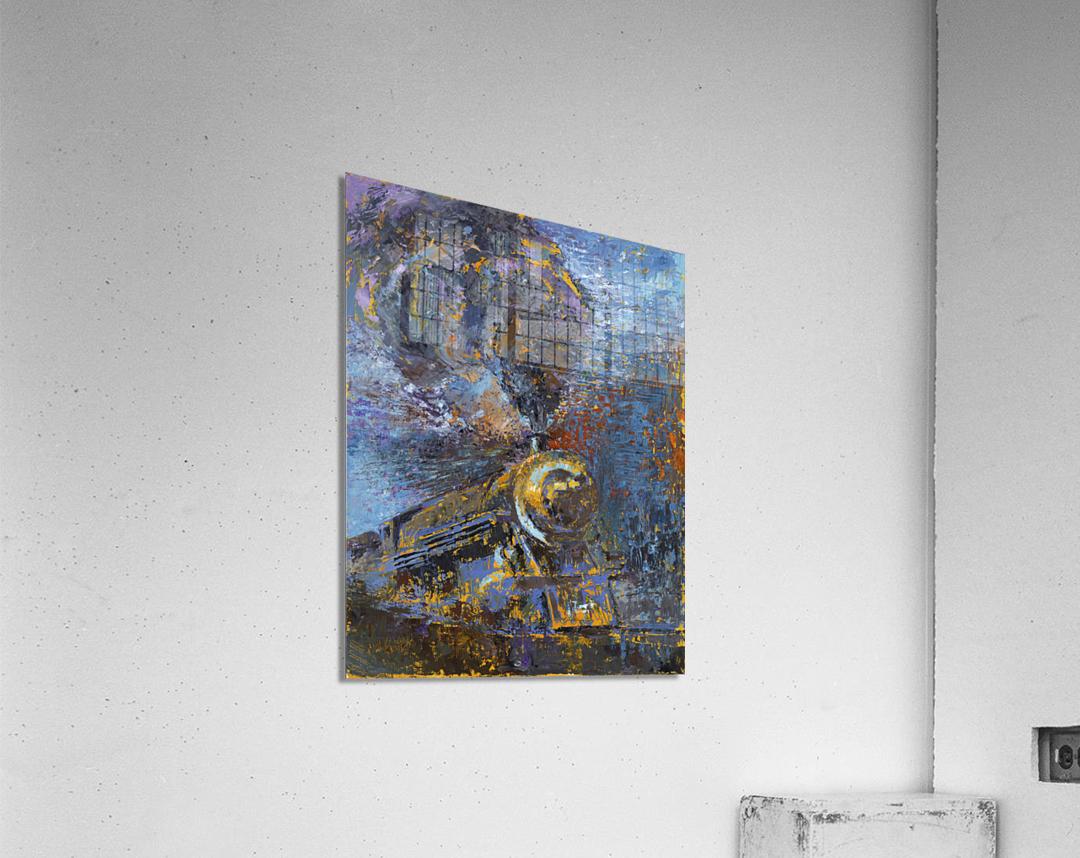 Chesapeake: Flying Embers  Acrylic Print