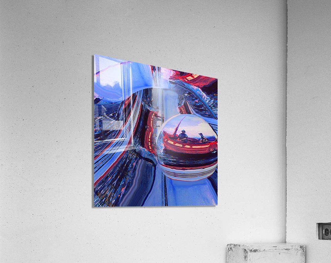 Romantic River Escape   Acrylic Print
