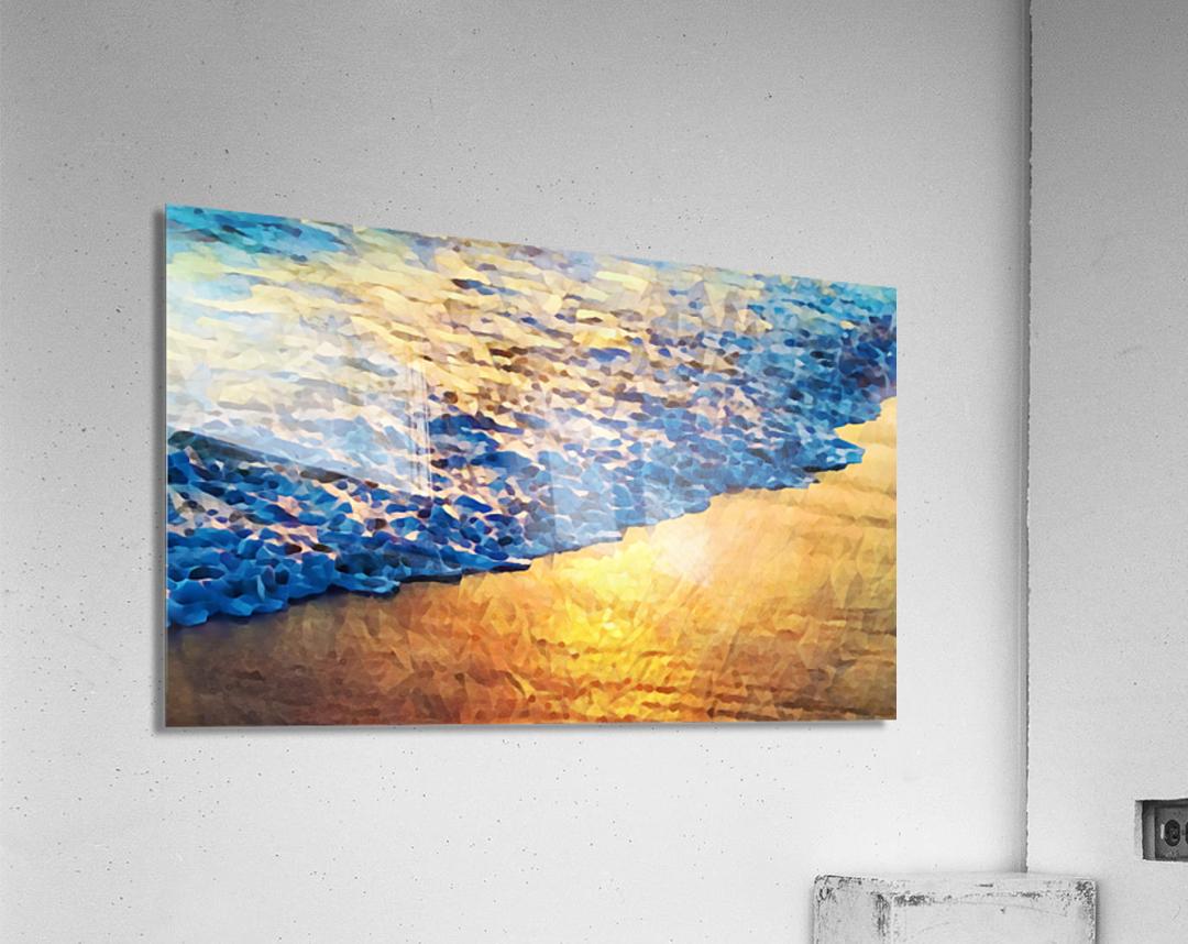 Manhattan Beach Water  Acrylic Print