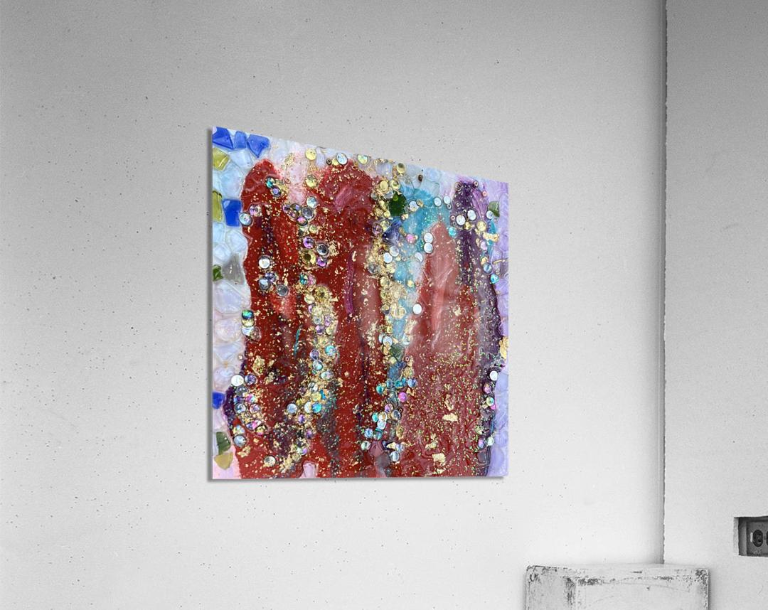 Rained Confetti   Acrylic Print