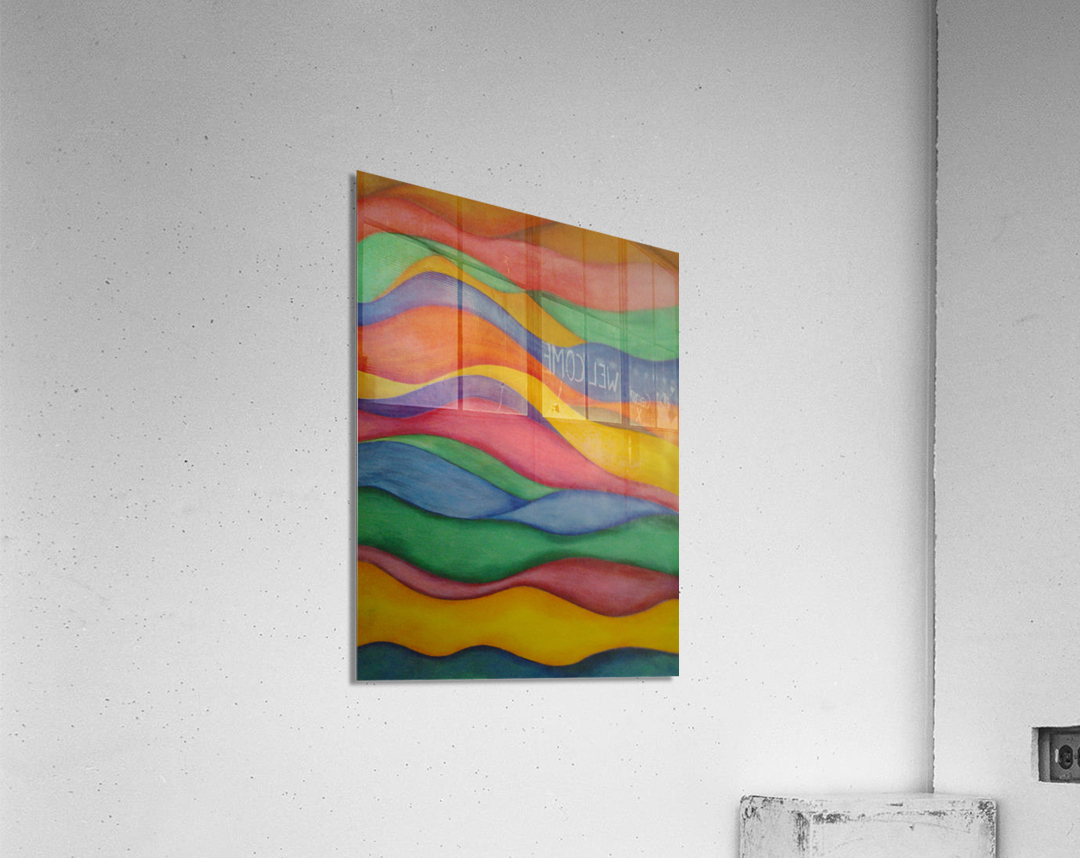 taffyribbons  Impression acrylique