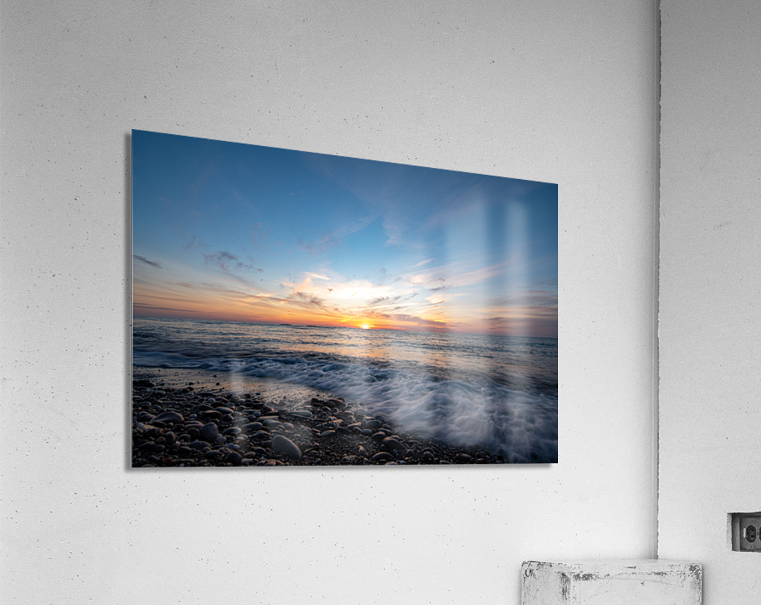 Washed by a Sunset  Acrylic Print