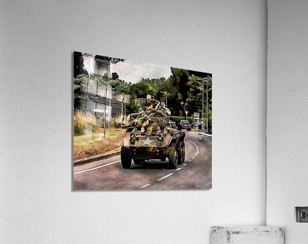 Six Wheeled Armoured Vehicle  Acrylic Print