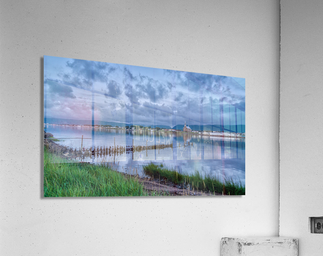 Cheticamp Harbour  Acrylic Print