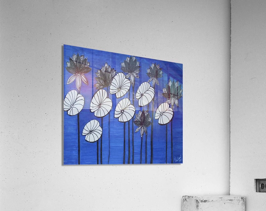 Black Lotus  Acrylic Print