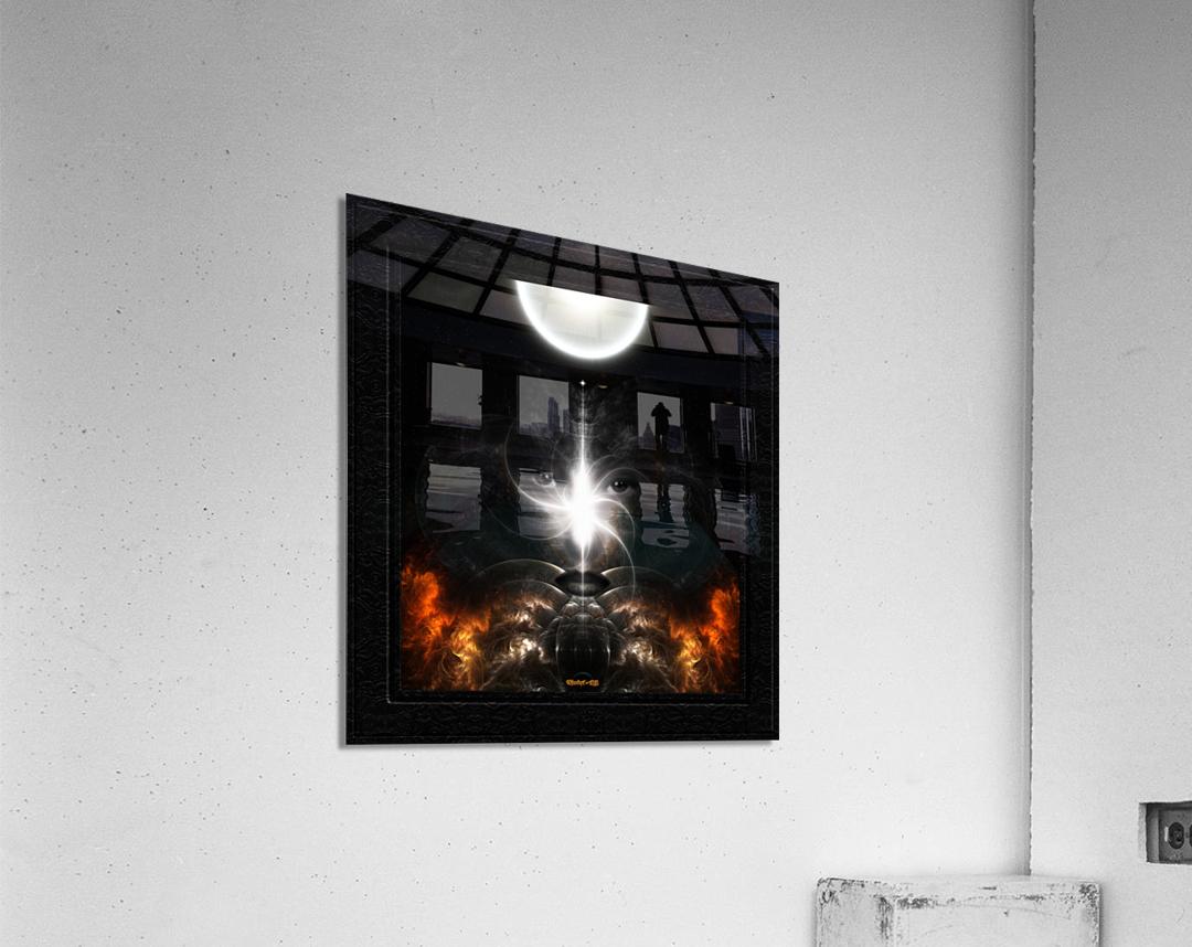 Isis Revealed Mystical Fractal Art Composition by Xzendor7  Acrylic Print