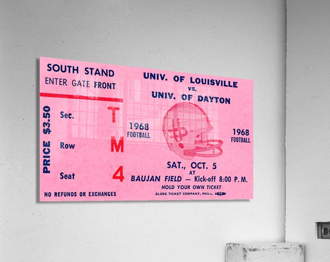 1968 Louisville Cardinals  vs. Dayton Flyers   Acrylic Print