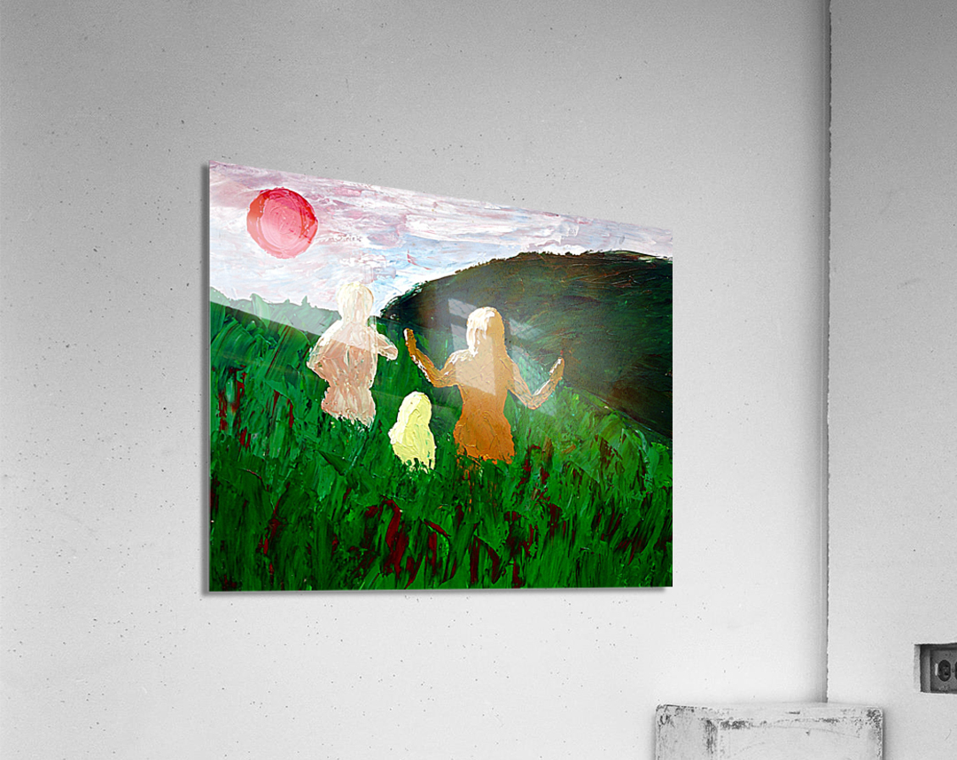 The Parent Adult Child Trilogy  Acrylic Print
