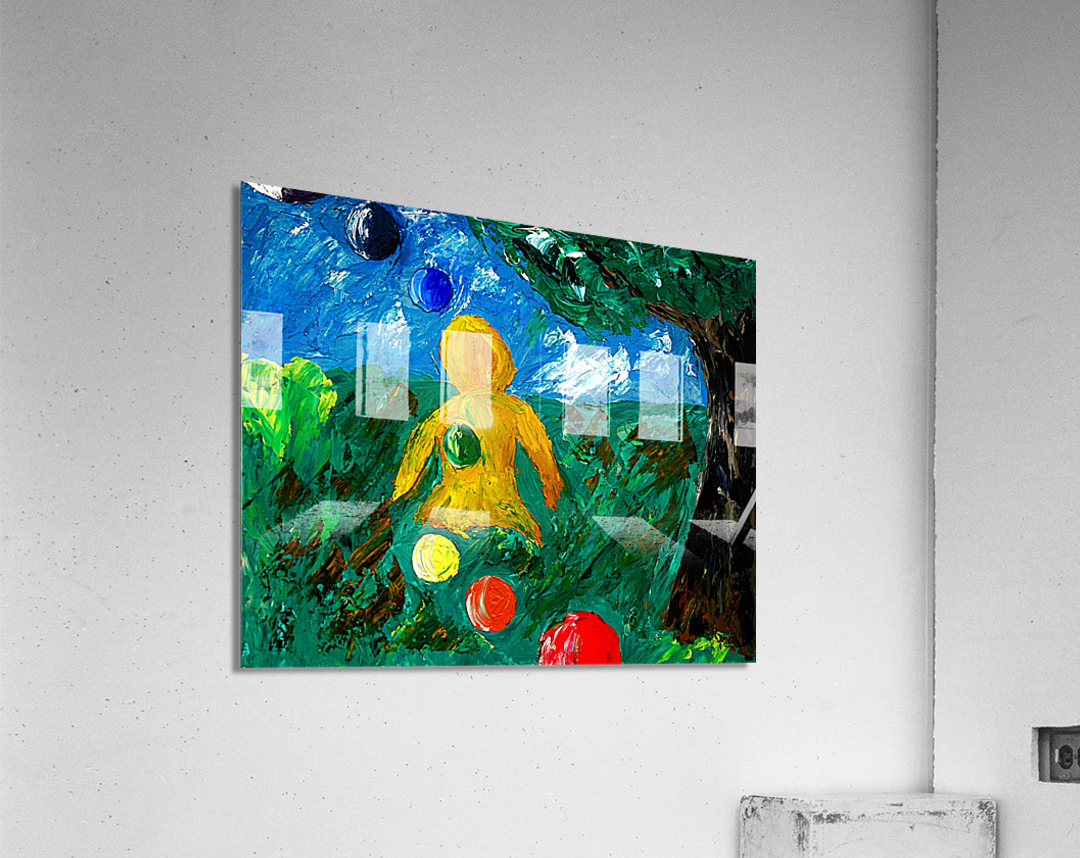 You Are Never Alone  Acrylic Print