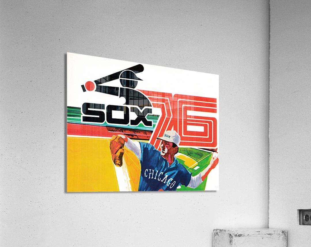 1976 Chicago White Sox Baseball Art  Acrylic Print