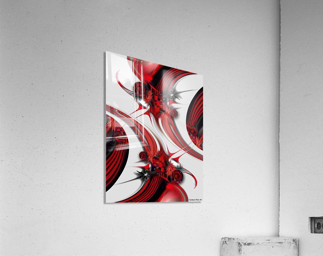 Tender Design   Composition  Acrylic Print