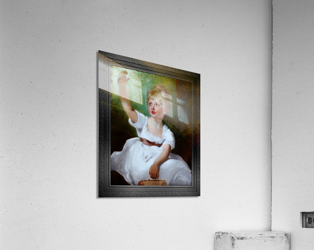 Princess Charlotte of Wales by Sir Thomas Lawrence Classical Fine Art Xzendor7 Old Masters Reproductions  Acrylic Print