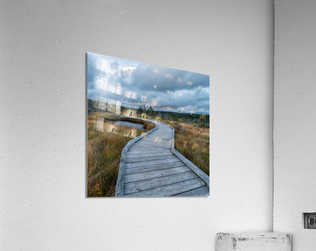 Autumn Walk - 2  Acrylic Print