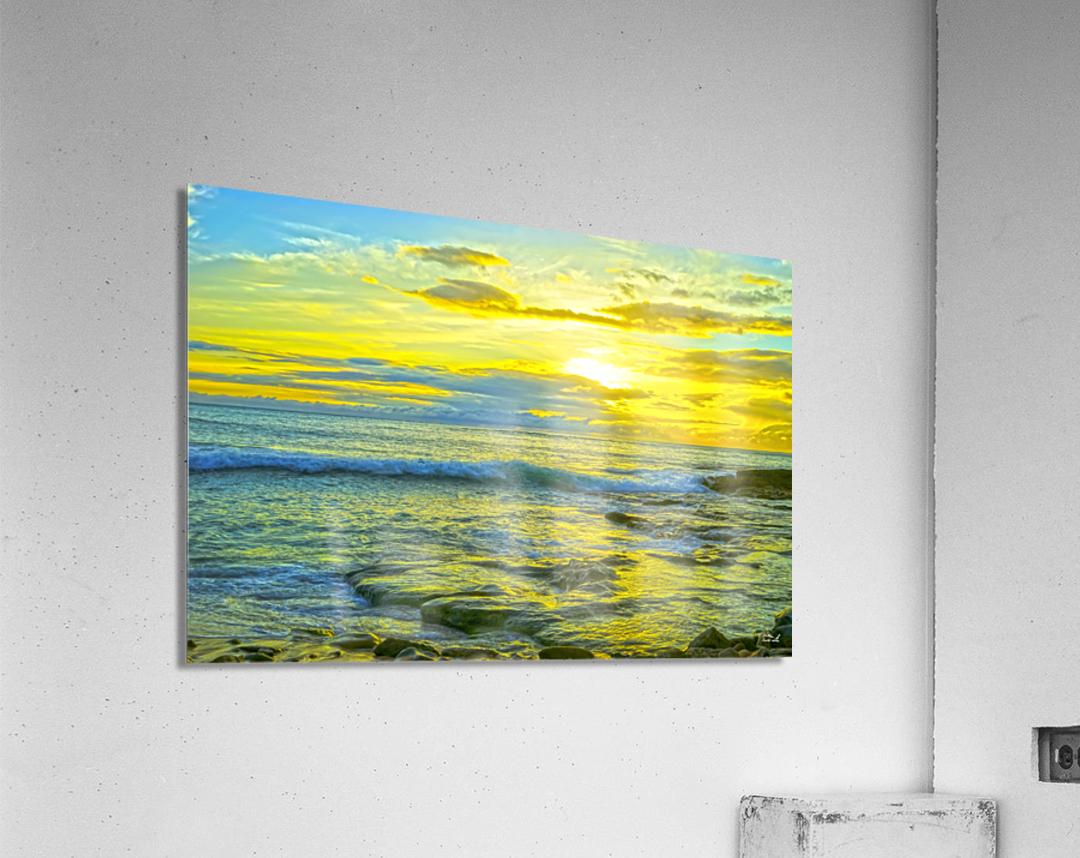 Sunset in Paradise   Hawaii  Acrylic Print