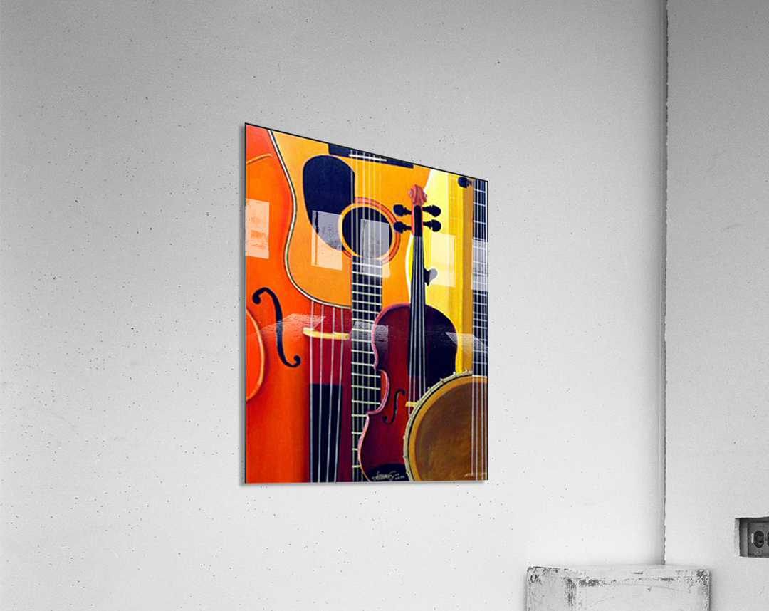 Blue Grass to Brahms  Acrylic Print