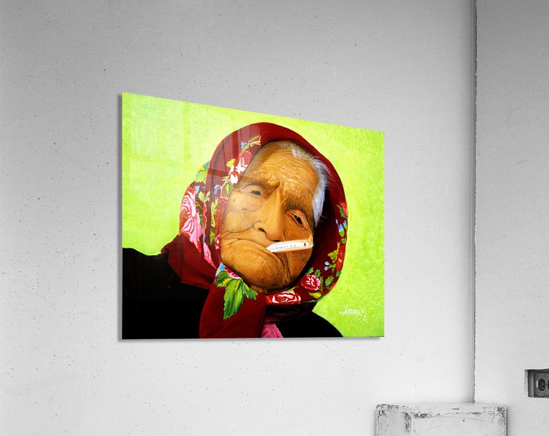 Native Survivor  Acrylic Print