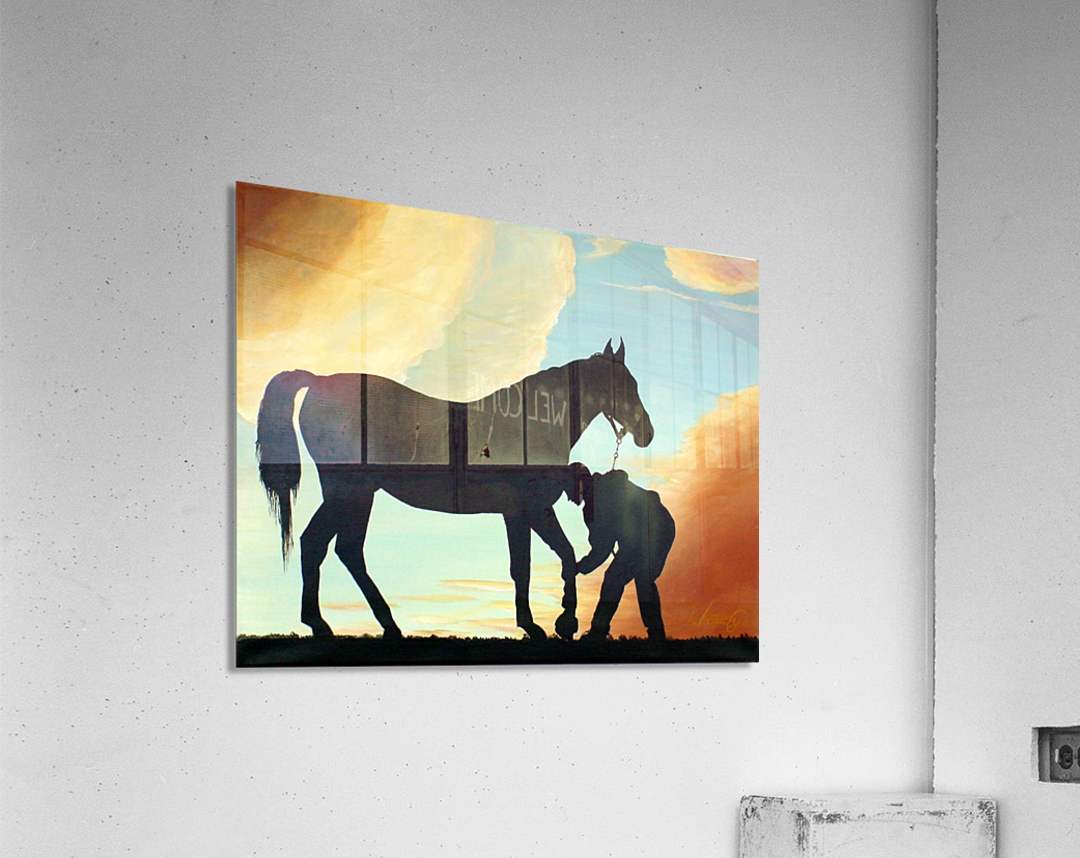 Let Me Look!  Acrylic Print