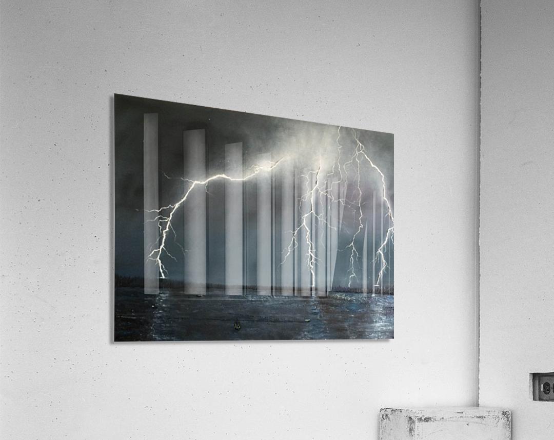 Electric  Acrylic Print