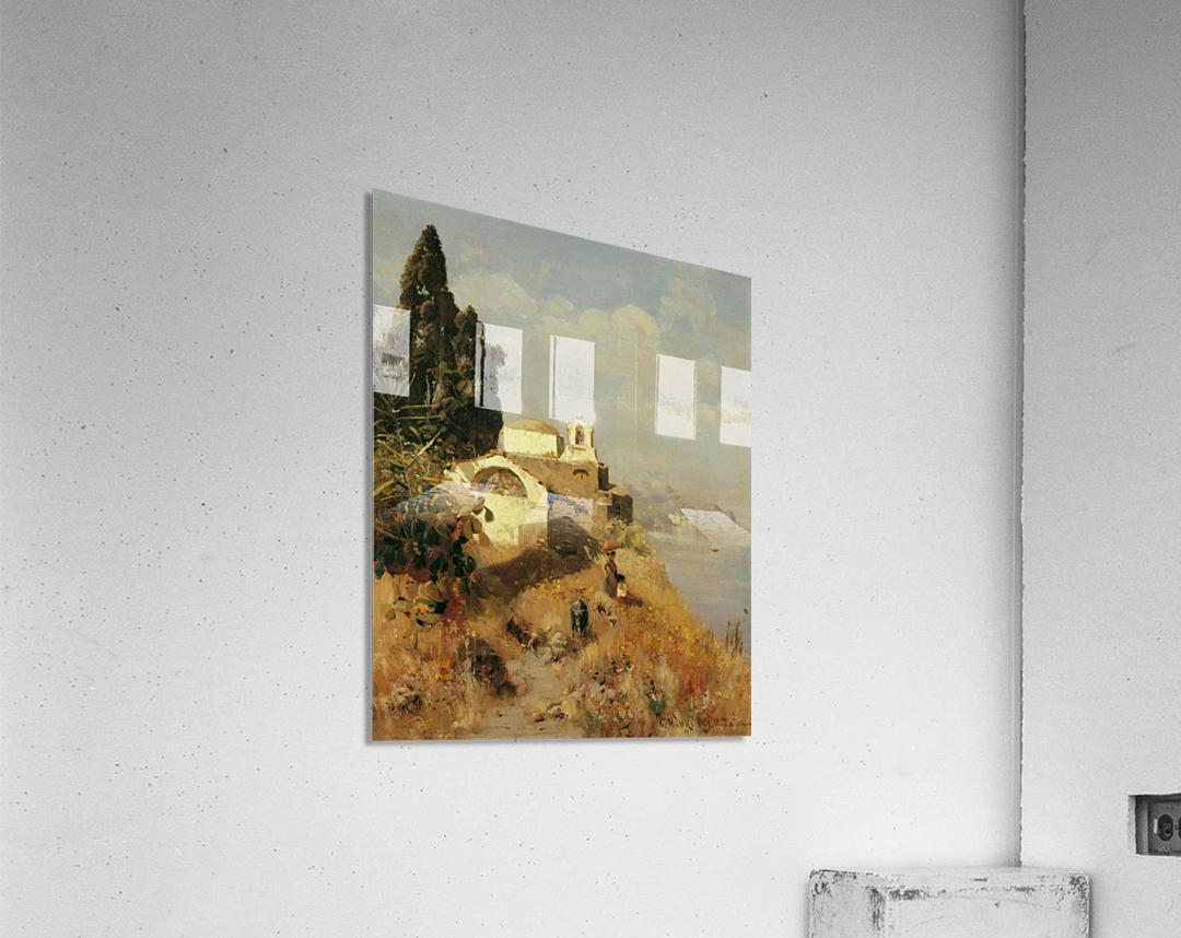 On Ischia in Casamicciola  Acrylic Print