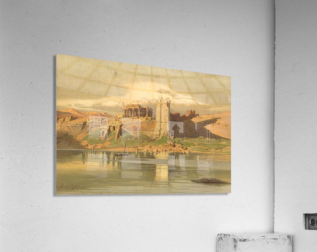 The Temple Ruins of Kum-Ombo, Egypt  Acrylic Print