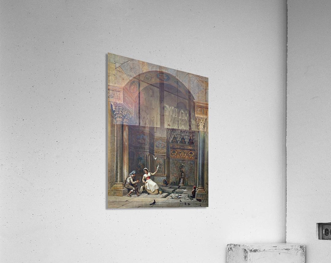 House of Zisa Palermo  Acrylic Print