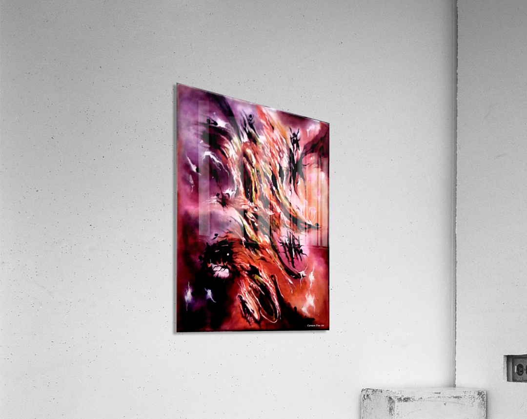 Manifesto of Cosmic Significance  Acrylic Print