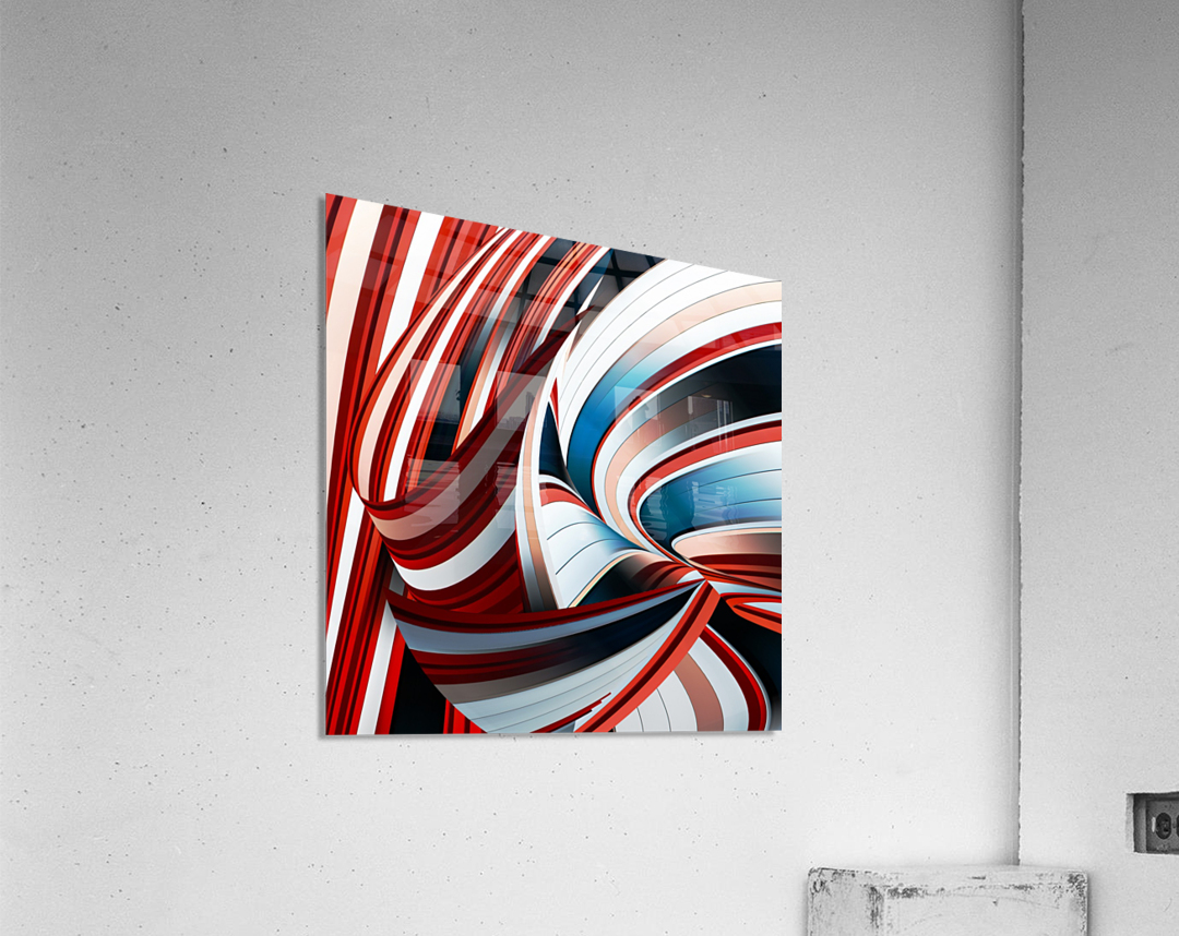 Passione annodata  Impression acrylique