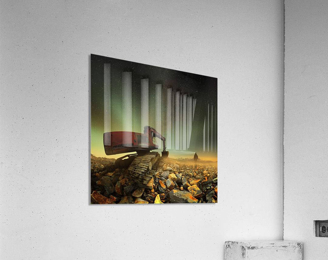 Goldherer  Impression acrylique