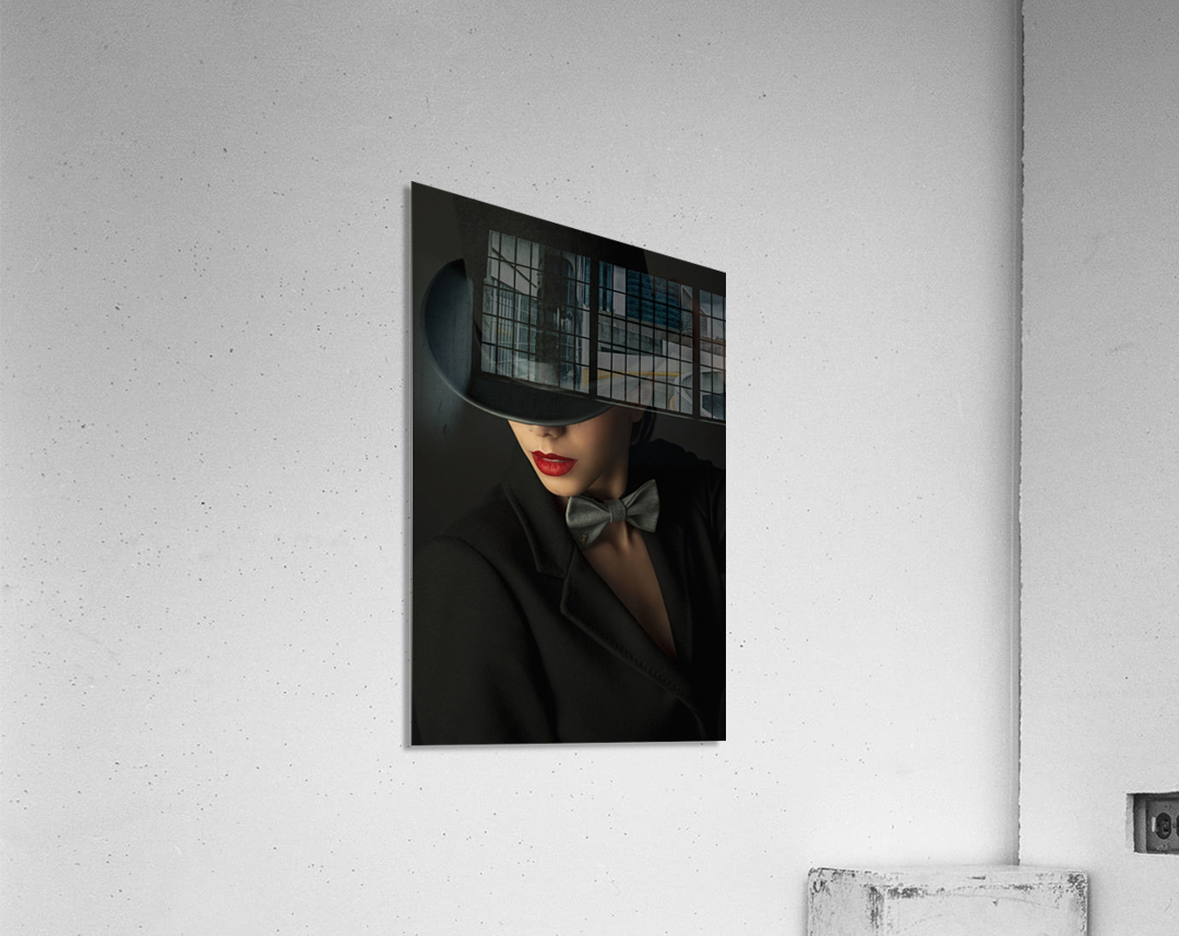 Mystery under the topper  Acrylic Print