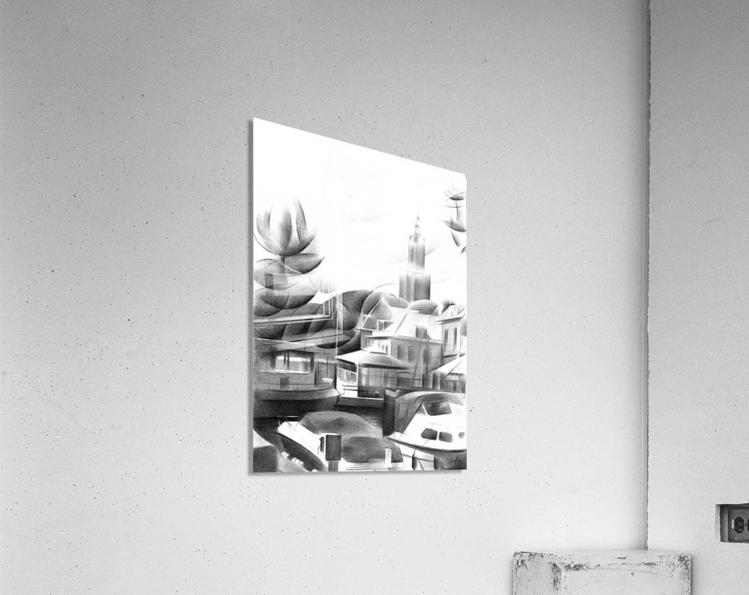 Vlaardingen - 14-09-16  Impression acrylique