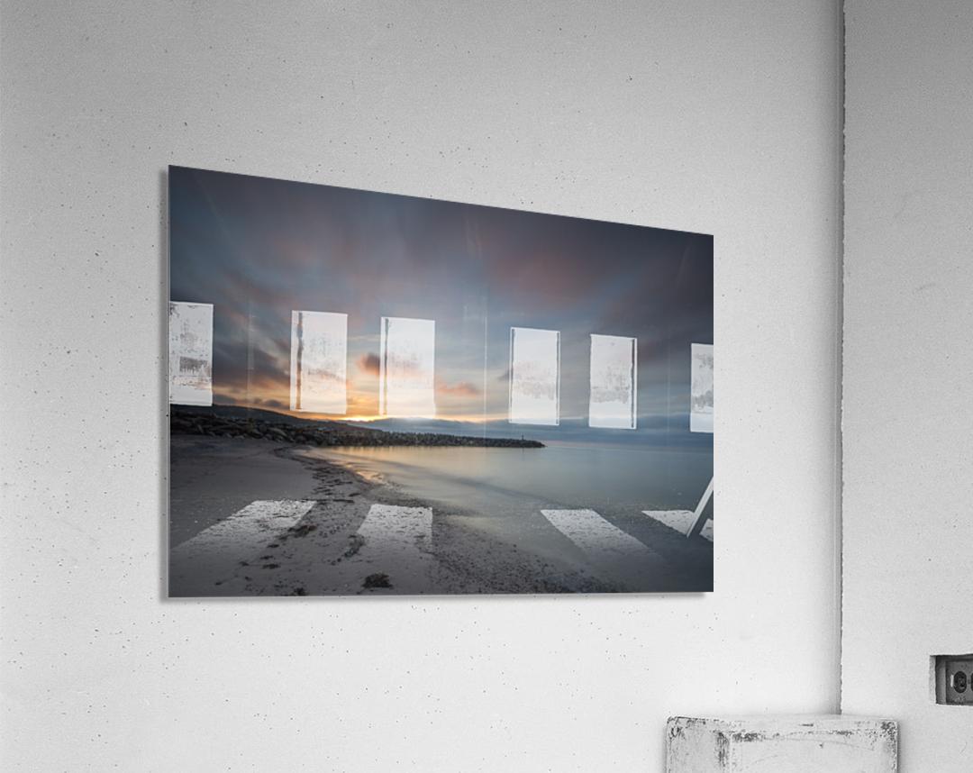 Belle Sunset  Acrylic Print