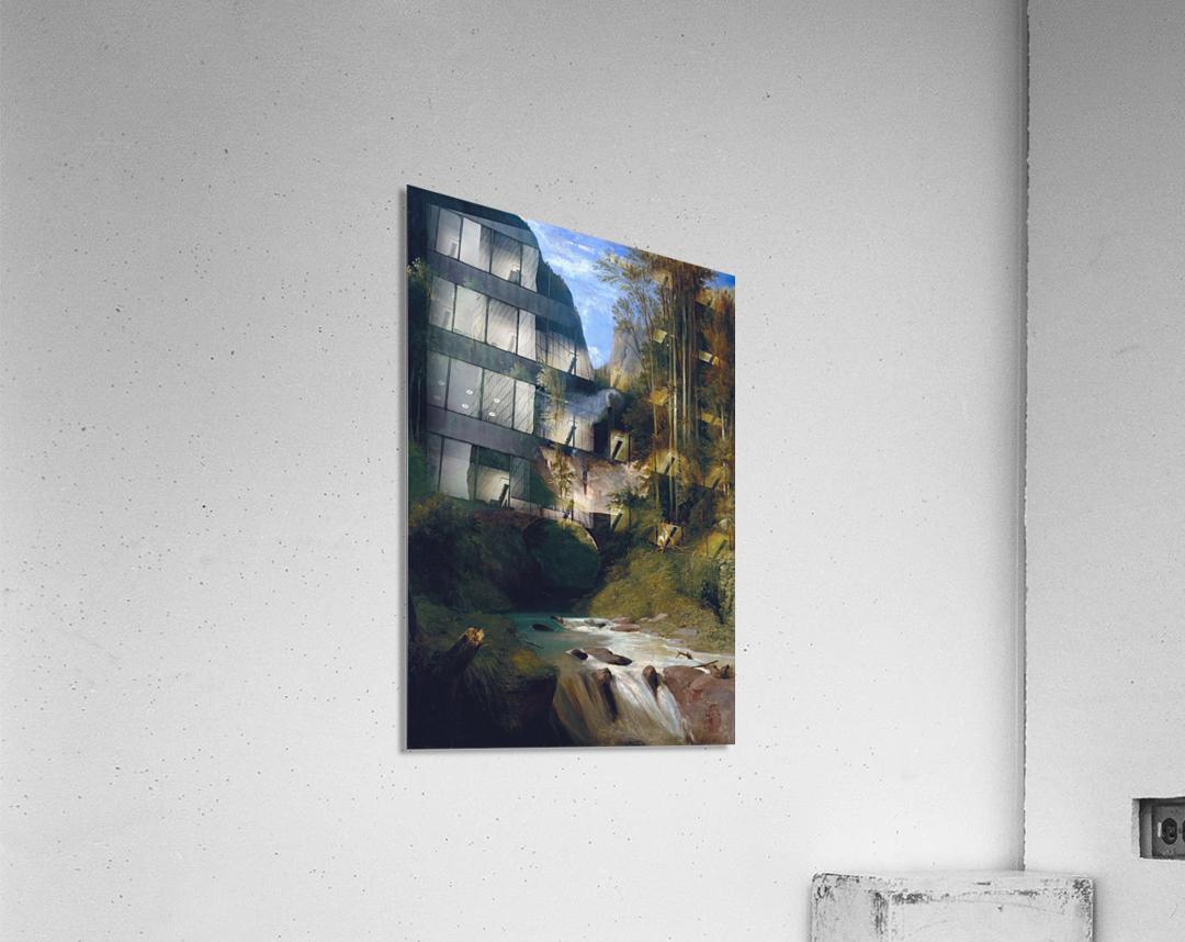 Schlucht bei Amalfi, 1831  Impression acrylique