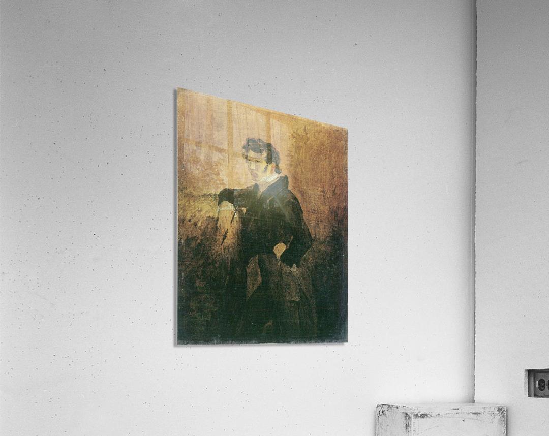 Portait de Carl Blechen  Impression acrylique