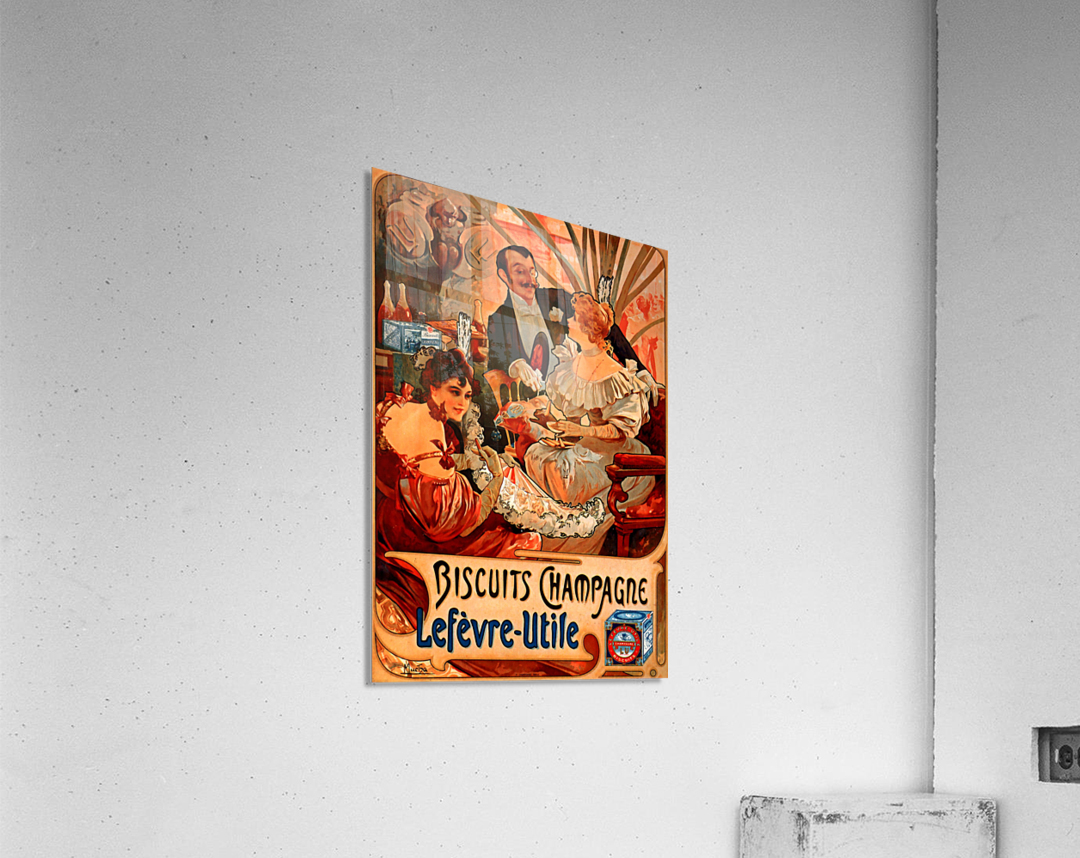 Biscuits Champagne, Lefevre-Utile  Acrylic Print
