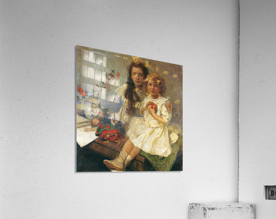 Jaroslava and Jiri  Acrylic Print