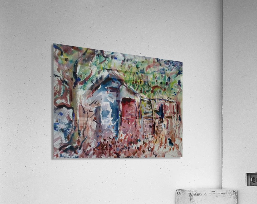 The Hut  Acrylic Print